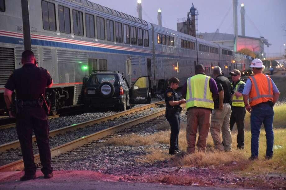 Woman struck, killed by train near downtown San Antonio - San