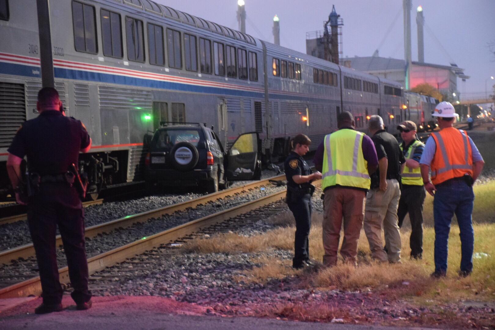 Woman Struck Killed By Train Near Downtown San Antonio