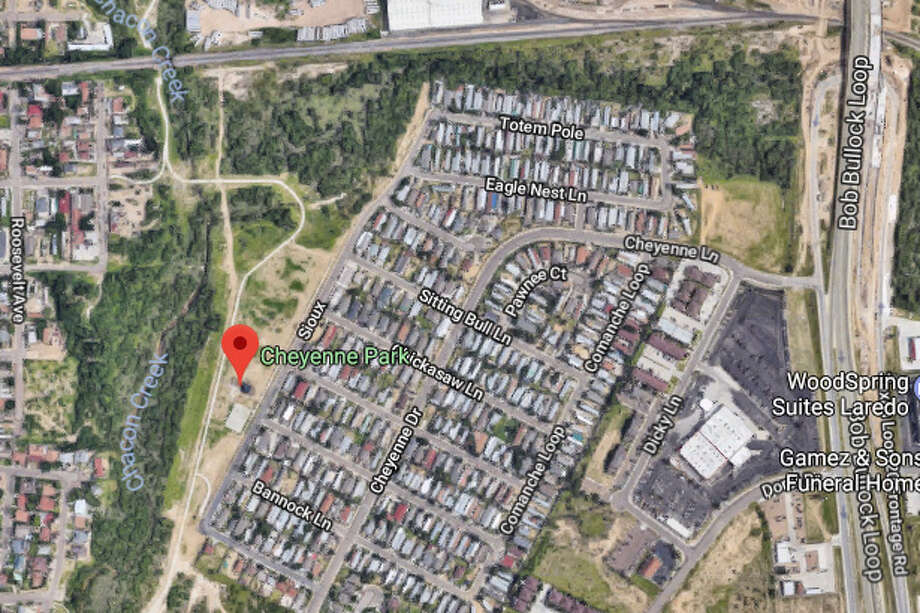 Police responded to reports of a male bleeding and not breathing at 9:45 a.m. Saturday at Cheyenne Park Photo: Google Maps/Street View
