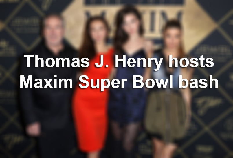 Local Attorney Thomas J Henry And Family Party With