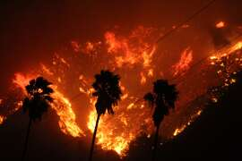 The Thomas wildfire blaze broke out Monday, December 4th and grew wildly to more than 48 square miles in Ventura County.