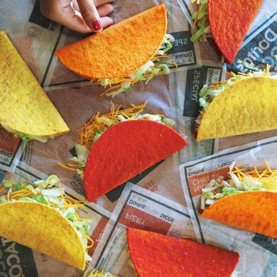 "Taco Bell announced on Thursday that it will be giving away free tacos on Wednesday, June 13, as part of its ""Steal a Game, Steal a Taco"" promotion with the National Basketball Association.  Photo: Taco Bell 