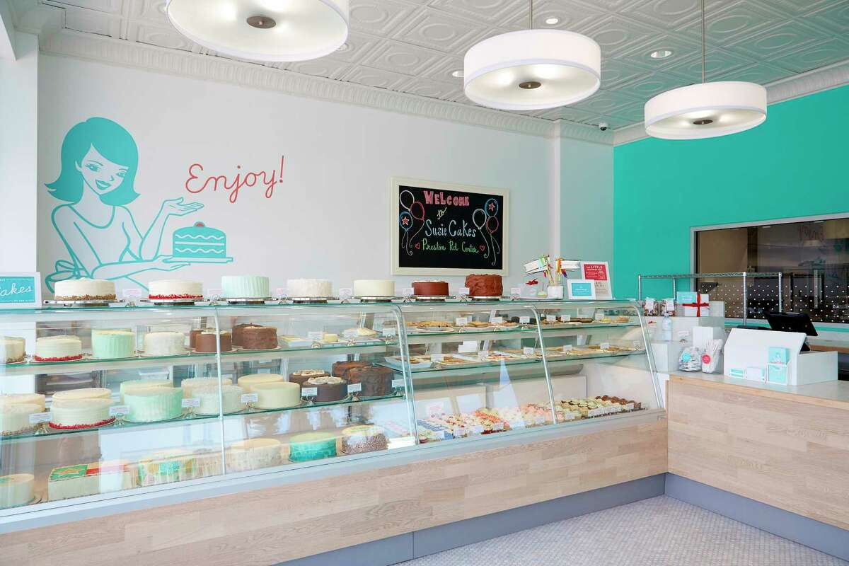 The interior of the Dallas SusieCakes store, which is opening in Rice Village on Dec. 9.