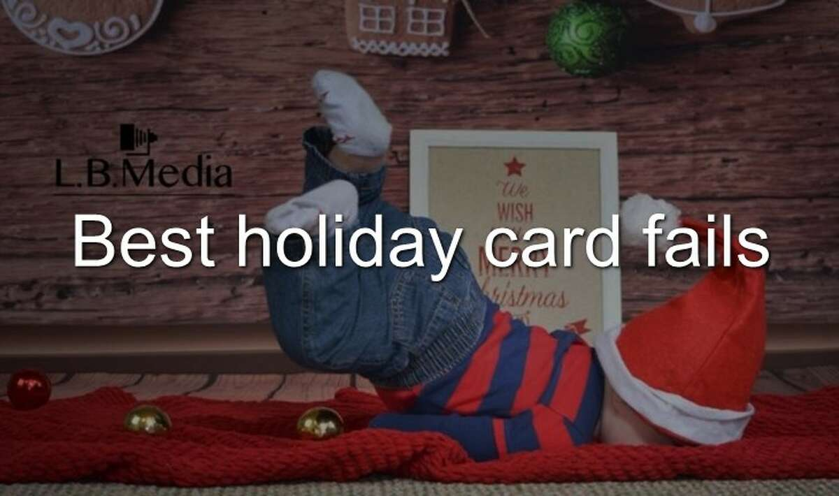 Continue through the photos to see the best holiday card fails provided by AwkwardFamilyPhotos.com