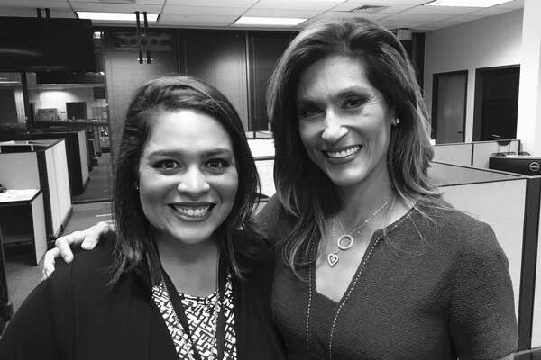 """KENS-TV newswoman Alicia Neaves said on Facebook that she was """"grateful and privileged"""" to learn from icon Sarah Lucero before her colleague resigned earlier this month."""