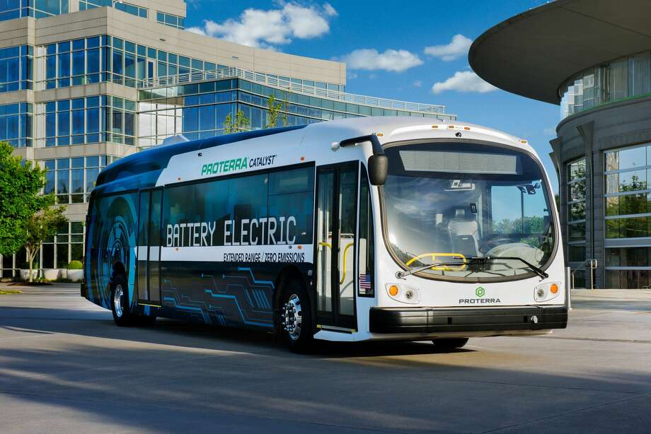 Yosemite S First Zero Emission Electric Bus The Proterra Catalyst Will Soon Be Shuttling