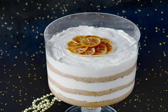 Aunt Sherry's tipsy trifle on Monday, December 4, 2017, in San Francisco, Calif.