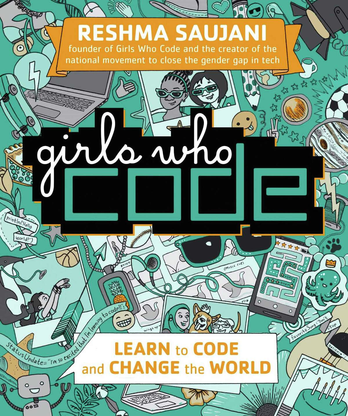 """Reshma Saujani has written a new book called """"Girls Who Code"""" for age 10 and older."""