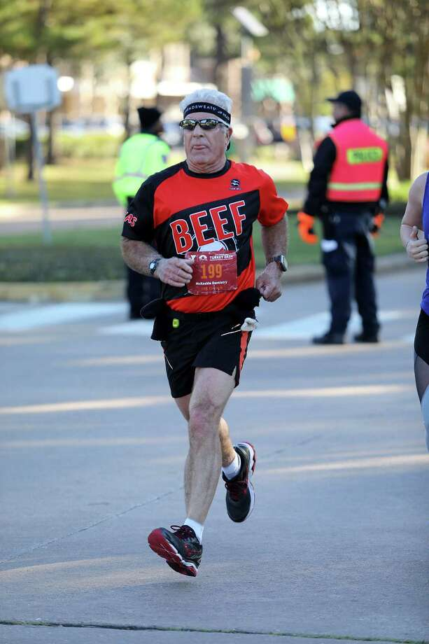 Rick Bozanich was among the 4,500 runners and walkers who participated in this year's YMCA Turkey Dash in Cinco Ranch. Photo: YMCA