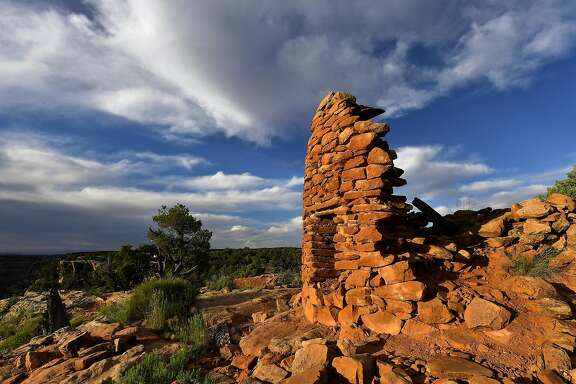 Cave Canyon Towers in Bears Ears National Monument in Cedar Mesa, Utah. MUST CREDIT: Washington Post photo by Katherine Frey.