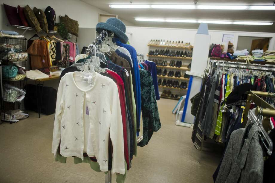 Items are on display inside the thrift store at King's Daughters Home Assisted Living & Nursing Home on Thursday, Nov. 30. (Katy Kildee/kkildee@mdn.net) Photo: (Katy Kildee/kkildee@mdn.net)