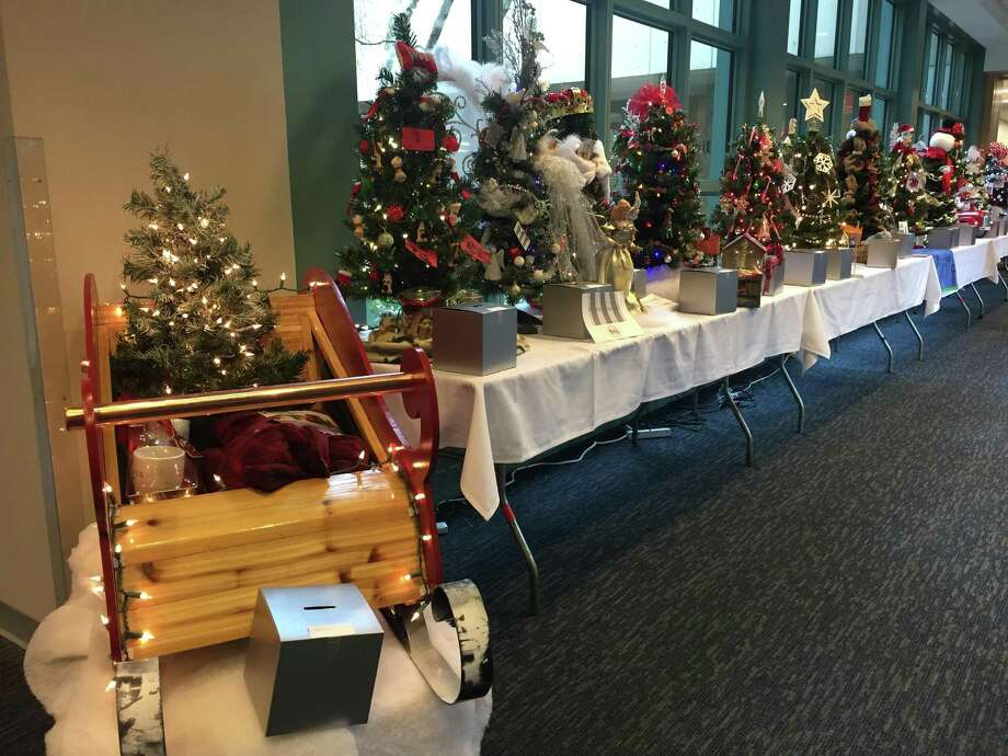 Griffin Hospital is hosting its Annual Holiday Wonderland of Tree fundraiser until Dec. 21 to support Spooner House. Photo courtesy of Griffin Hospital. Photo: Contributed / Contributed