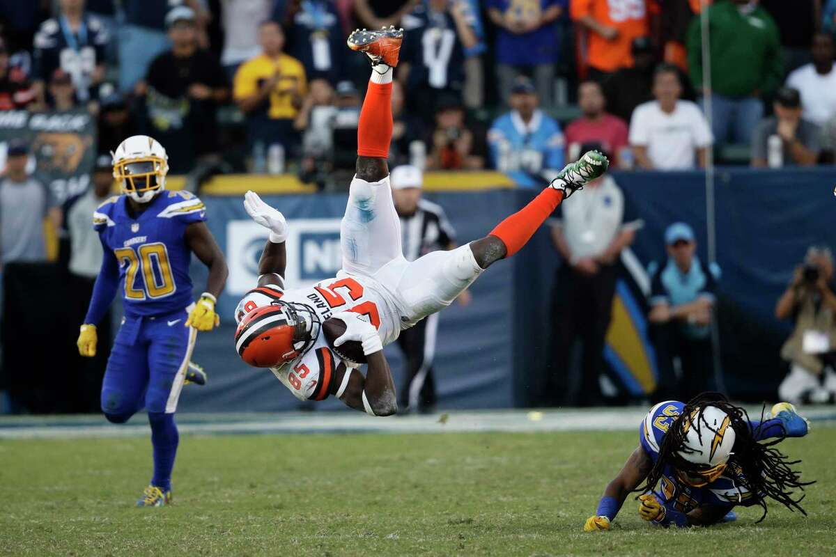 JOHN McCLAIN'S NFL POWER RANKINGS: WEEK 14 32. Cleveland 0-12 Last week: 32 Over the last three seasons, the Browns are 4-40. They've lost 38 of their last 39 games. They're now 1-27 in Hue Jackson's two seasons.