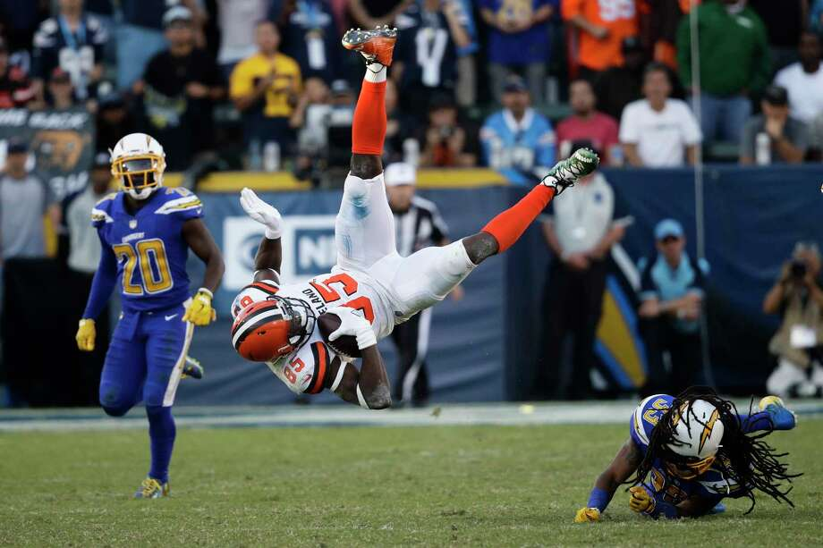 JOHN McCLAIN'S NFL POWER RANKINGS: WEEK 1432. Cleveland 0-12Last week: 32Over the last three seasons, the Browns are 4-40. They've lost 38 of their last 39 games. They're now 1-27 in Hue Jackson's two seasons. Photo: Jae C. Hong, Associated Press / Copyright 2017 The Associated Press. All rights reserved.