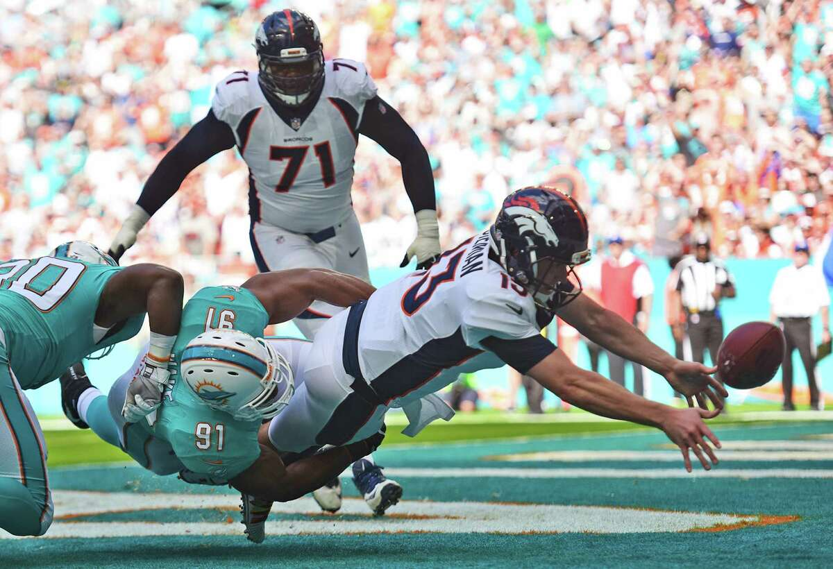 JOHN McCLAIN'S NFL POWER RANKINGS: WEEK 14 30. Denver 3-9 Last week: 29 After starting 3-1, the Broncos have an eight-game losing streak. They were blown out at Miami and try to recover at home against the Jets.