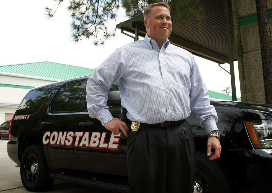 Montgomery County Precinct 3 Constable Ryan Gable / Staff photo by Eric Swist