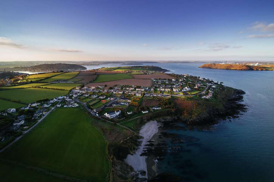 The coastal town of Crosshaven, County Cork, Ireland is just south of the village of Ringaskiddy. Ringaskiddy citizens say fumes from the local Pfizer Viagra plant are affecting men in the village. Photo: Carrigphotos/Getty Images/RooM RF