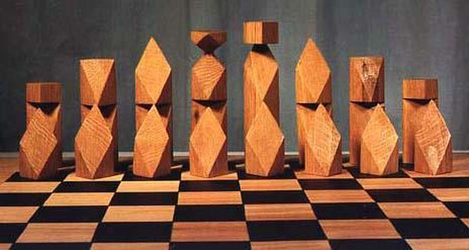 Students and adults worldwide have submitted their chess set designs to Greenwich resident Gene Zelazny's website, www.zelazny.com. Photo: Contributed