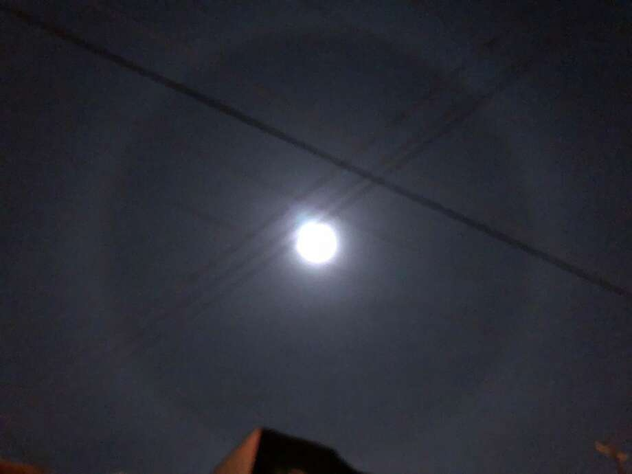 "Duncan Graham took this photo of a ""moon halo"" in the Bay Area on Dec. 1, 2017. Photo: Courtesy Duncan Graham"