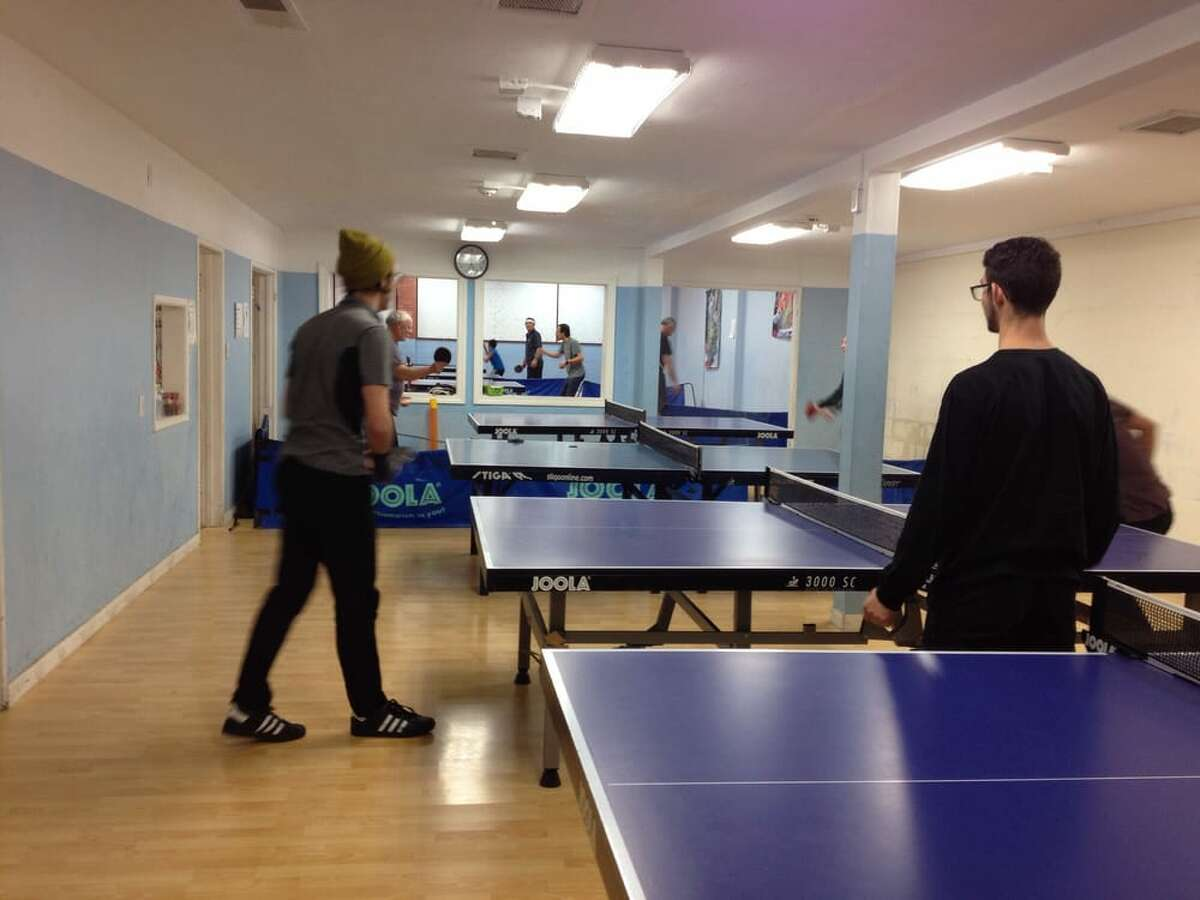 Ping Pong alternative: iTableTennis Just want to swing the paddle without the kitsch cocktails and bar food? Try this very unpretentious spot in Albany. It costs $8 per day and that includes paddle rental. Address: 533 San Pablo Ave, Albany