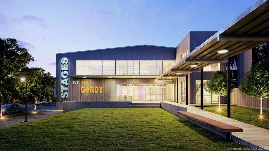 The proposed design for the Gordy, Stages Repertory Theatre's $30.5 million new theater complex. View from D'Amico St. Photo: Courtesy Stages Repertory Theatre