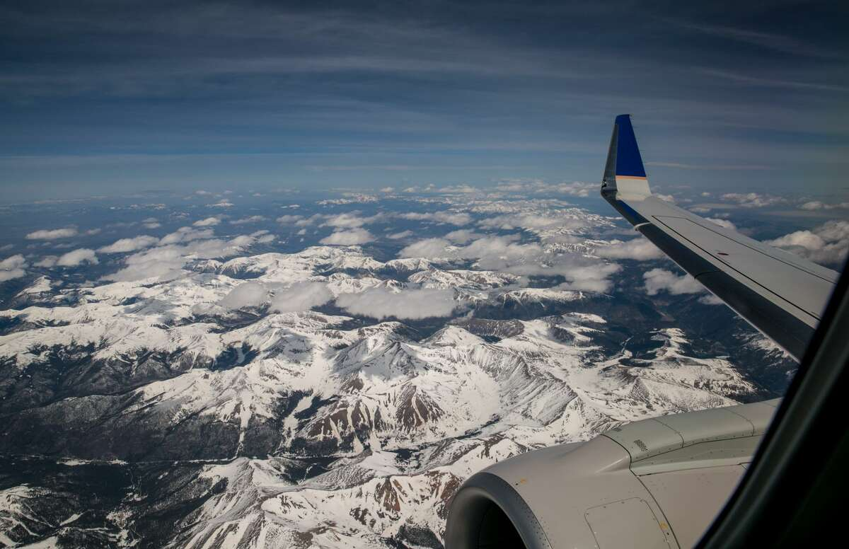 A flight fromSan Antonio to Denveris as low as$39on Frontier Airlines.