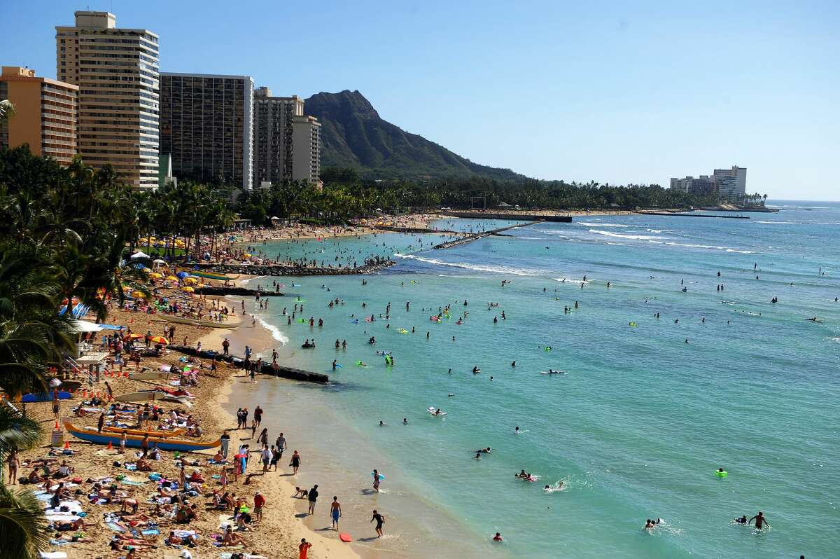 SLIDESHOW: BEST PLACES TO TRAVEL FROM SFO IN 2018 Honolulu, Hawaii The only American destination on our list is one that only recently became more accessible, and at $285 for a roundtrip from SFO all winter, the beach is looking very inviting. You can also score low-cost flights to other Hawaiian destinations from Oakland International.