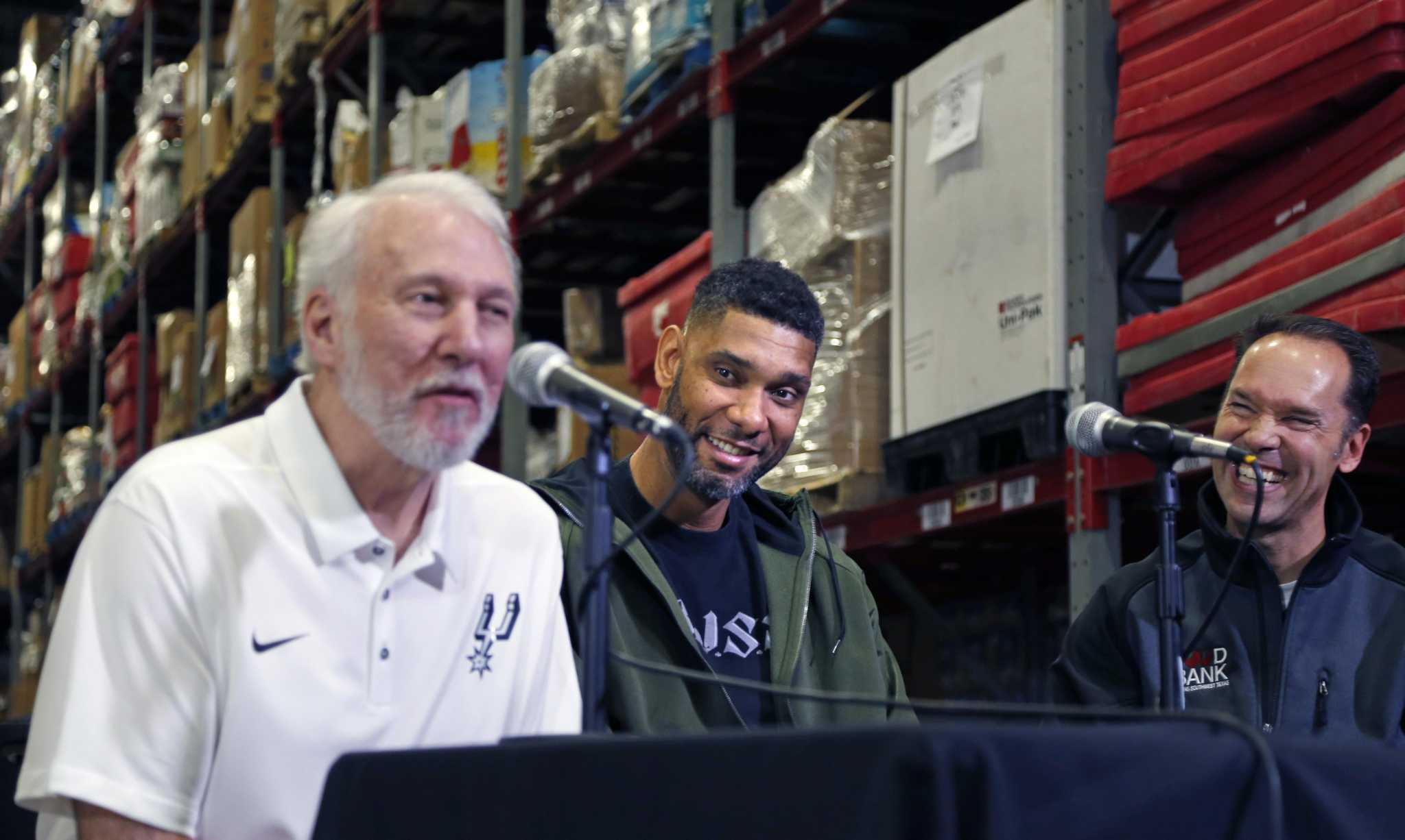 Food Bank, Spurs Give team to feed East Side families at AT&T Center