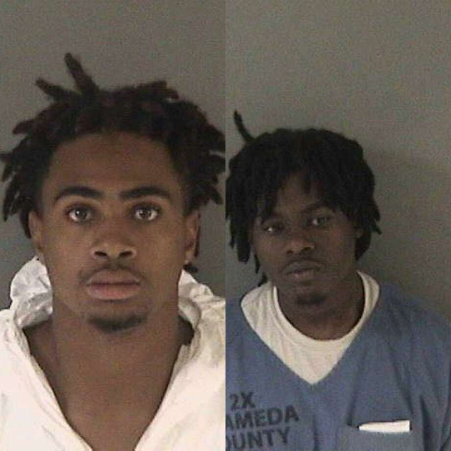 Jordan Patton, 18, of San Francisco (right), and Marcus Fortune, 18, of San Leandro (left), were charged with the murder of a 32-year-old San Leandro father, according to the Alameda County Sheriff's Office.