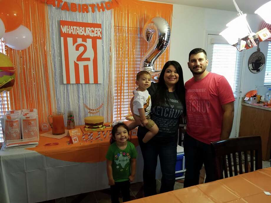 Oliver Stone celebrated his 2nd birthday Whataburger style, surrounded by family, friends and burgers in Helotes. Photo: Provided By Nicole Stone