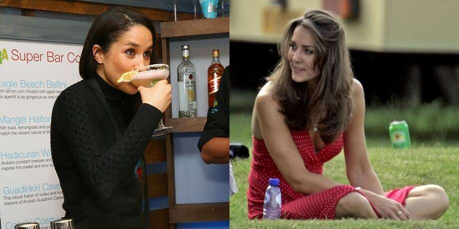 Take a look back at Kate Middleton and Meghan Markle before they were royals. Photo: Left: Astrid Stawiarz/Getty Images; Right: Indigo/Getty Images
