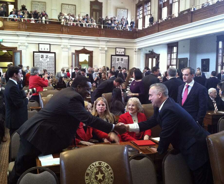 The Texas Legislature, shown here opening in 2015, has failed in its many public policy duties. Photo: Tom Reel /