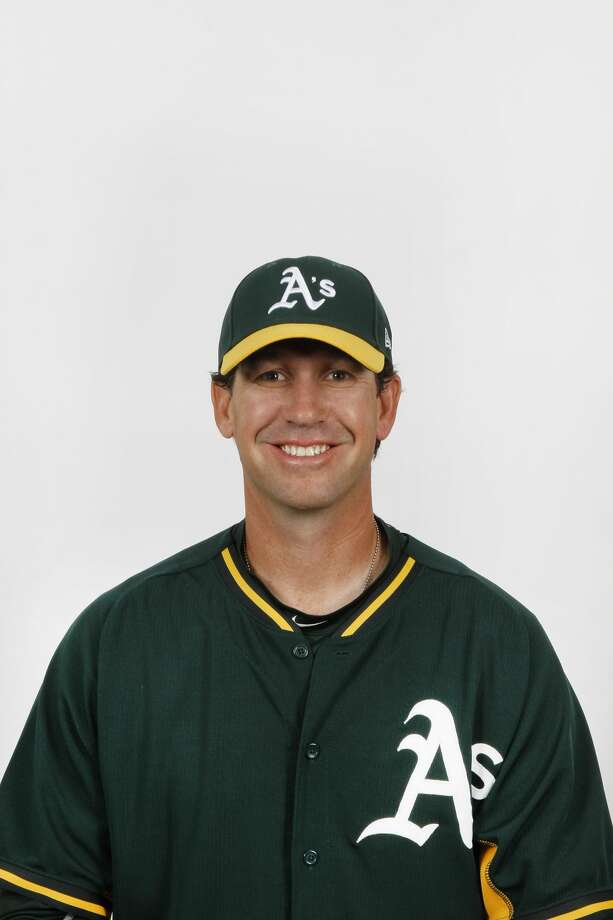 New RockHounds manager Scott Steinmann. Courtesy of Oakland A's Photo: Oakland A's