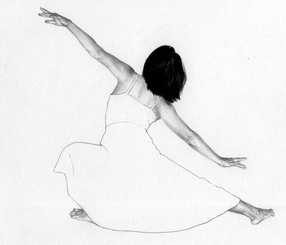 "Janet Rayner. Dance 3. Graphite. 9""x11"" will be included in the sale hosted by the Essex Art Association's event this weekend. Photo: Contributed Photo/not For Resale"