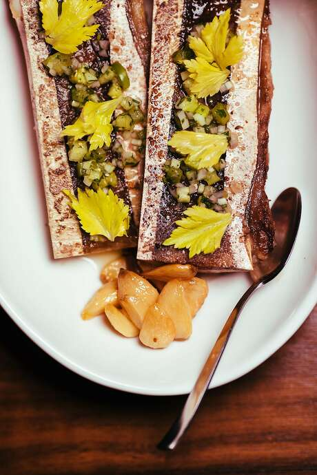 Roasted bone marrow ($15) at Son's Addition in the Mission. Photo: Mason Trinca, Special To The Chronicle