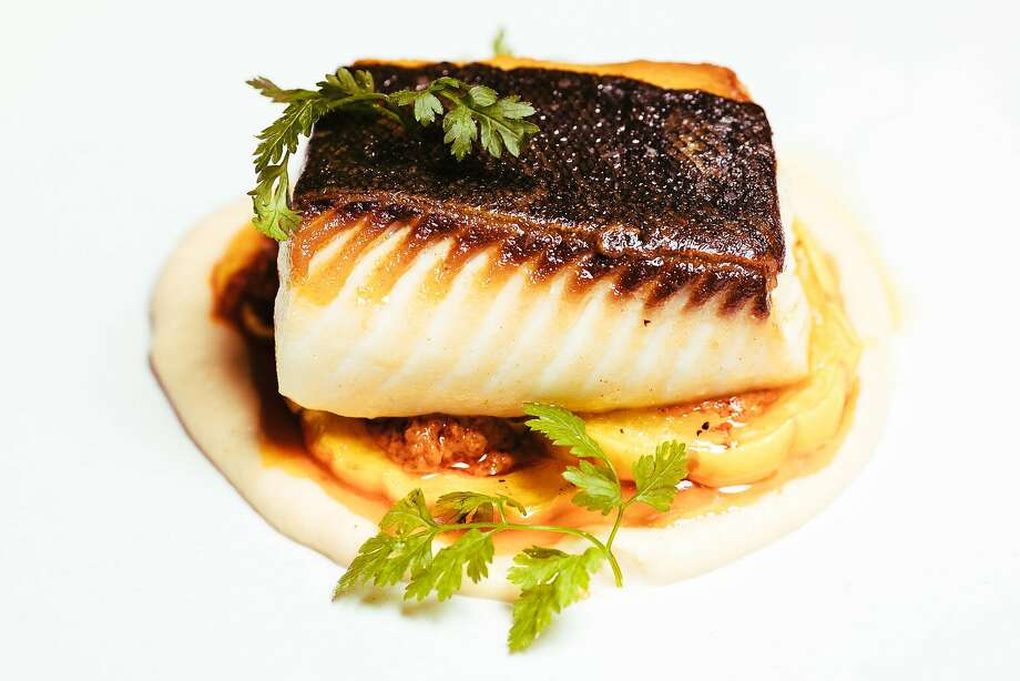 Pan-roasted black cod ($20) at Son's Addition in S.F. Photo: Mason Trinca, Special To The Chronicle