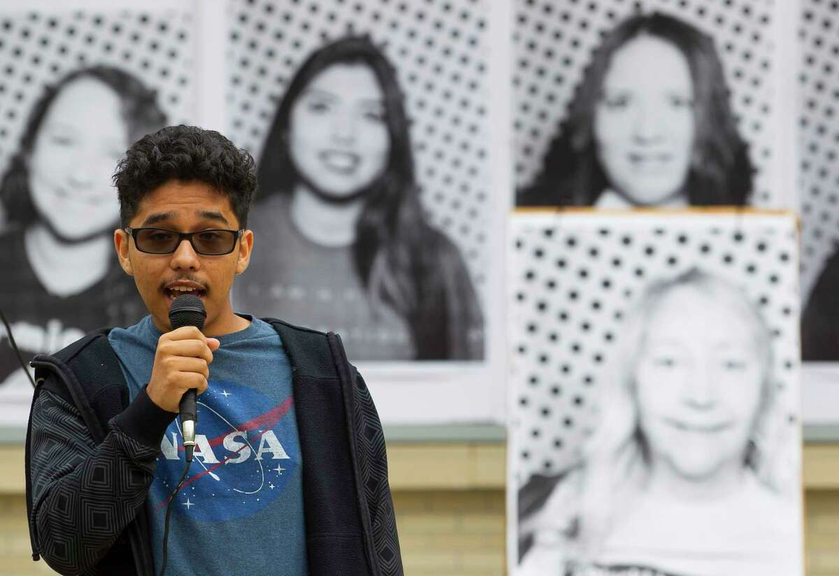 """Hector Angeles, 18, a freshman at the University of Houston and one of some 800,000 so-called """"Dreamers"""" in the U.S., is concerned about what will happen if the Deferred Action for Childhood Arrivals isn't extended. """"Everything I know is in Houston,"""" he says."""