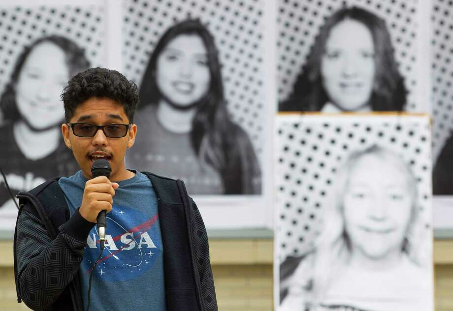 "Hector Angeles, 18, a freshman at the University of Houston and one of some 800,000 so-called ""Dreamers"" in the U.S., is concerned about what will happen if the Deferred Action for Childhood Arrivals isn't extended. ""Everything I know is in Houston,"" he says. Photo: Mark Mulligan, Houston Chronicle / © 2017 Houston Chronicle"