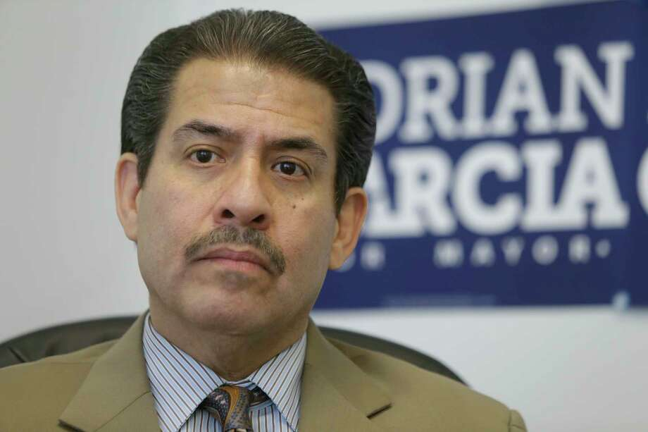 Former Harris County sheriff Adrian Garcia on Sept. 24, 2015, in Houston. ( Melissa Phillip  /  Houston Chronicle ) Photo: Melissa Phillip, Staff / © 2015 Houston Chronicle