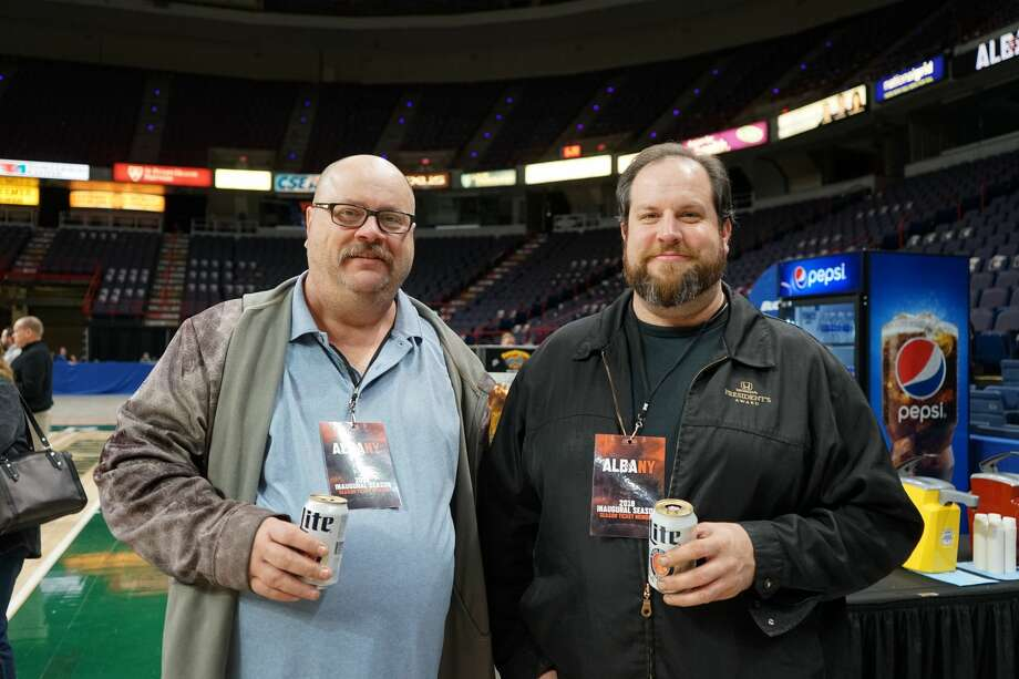 Were you Seen at the open house for Albany's AFL expansion team at Times Union Center on Dec. 5, 2017? Photo: (Massarah Mikati/Times Union)