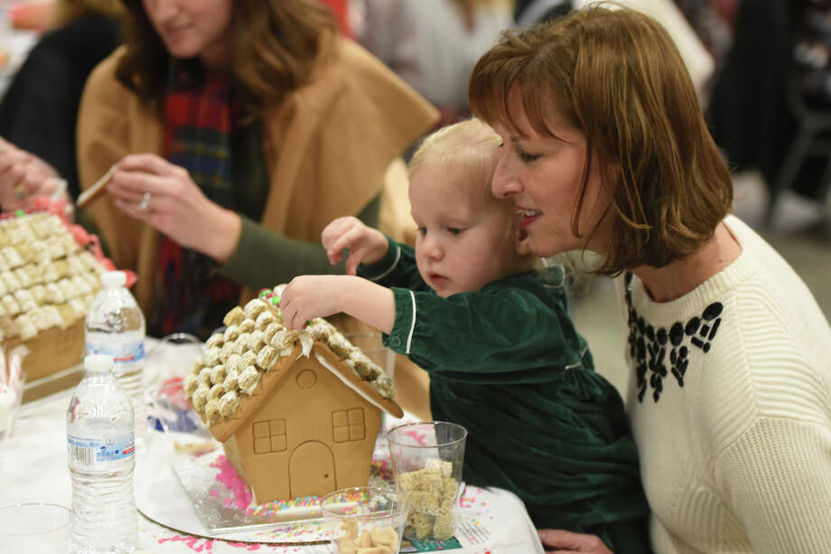 Sixth annual Gingerbread Haven fundraiser for Midland Fair Havens, Dec. 5, 2017.  James Durbin/Reporter-Telegram Photo: James Durbin