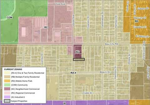 Midland City Council Unanimously Voted On Dec 4 To Rove The Rezoning Of Land At