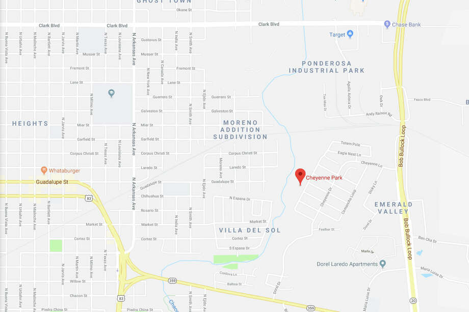 First responders were dispatched at about 9:45 a.m. Saturday to an area about one block west of the Sioux Drive and Sitting Bull Lane, about half a block away from the bike trail. Photo: Google Maps/Street View