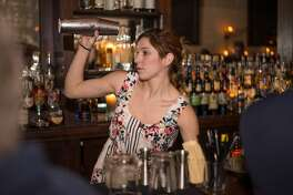 The Esquire Tavern in downtown San Antonio seemingly zipped back to the 1930s as it celebrated its 84th birthday and Repeal Day on Tuesday, Dec. 5, 2017. Stars and Garters Burlesque and the Dirty River Dixie Band led the exciting pomp throughout the night.