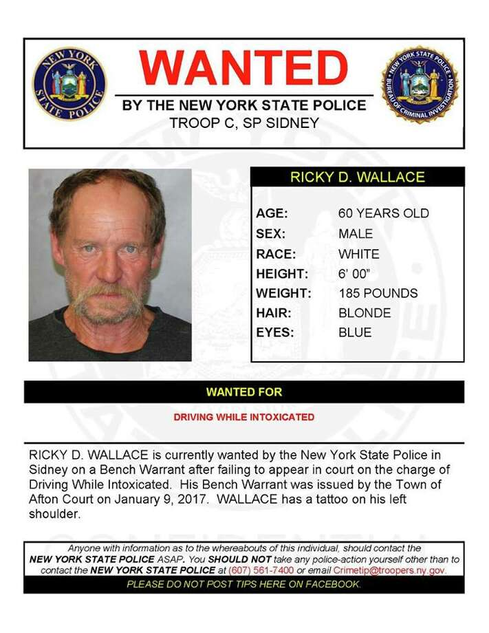 Ricky D. Wallace Photo: New York State Police