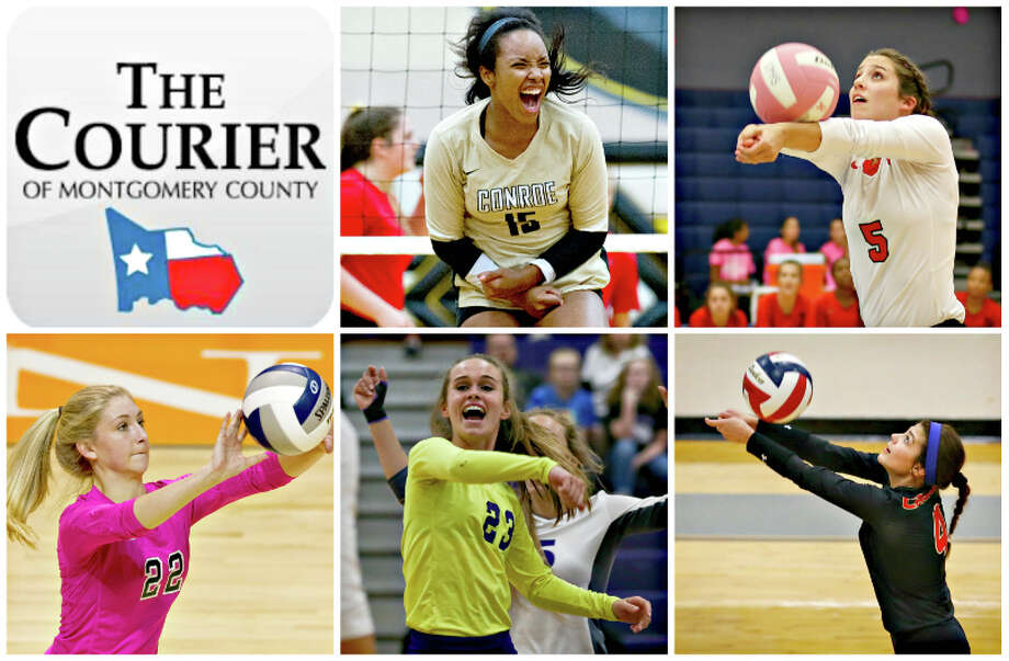 Conroe's Victoria Ratcliff, The Woodlands' Georgia Murphy, College Park's CC Clausen, Willis' Chloe York and Caney Creek's Delanie Coroiescu are The Courier's nominees for Defensive MVP.