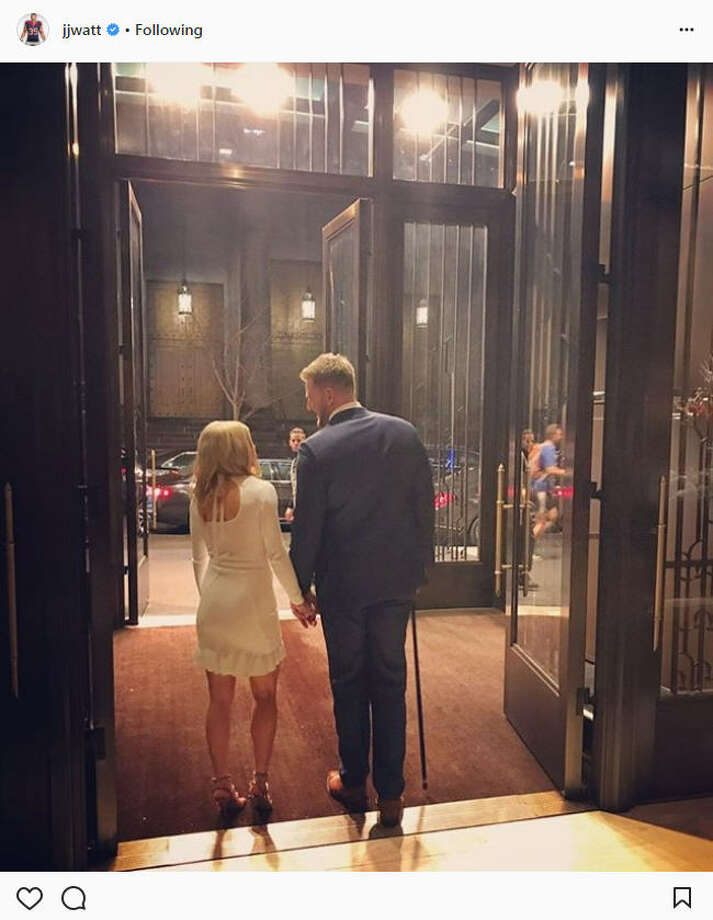 """Thankful to have my queen by my side,"" J.J. Watt wrote in a recent Instagram post with girlfriend Kealia Ohai. They were on their way to attend the Sports Illustrated 2017 Sportsperson of the Year Show on Dec. 5, 2017. Continue through the photos to see the pair at the event and their most adorable shots through their relationship.Source: Instagram Photo: Instagram"