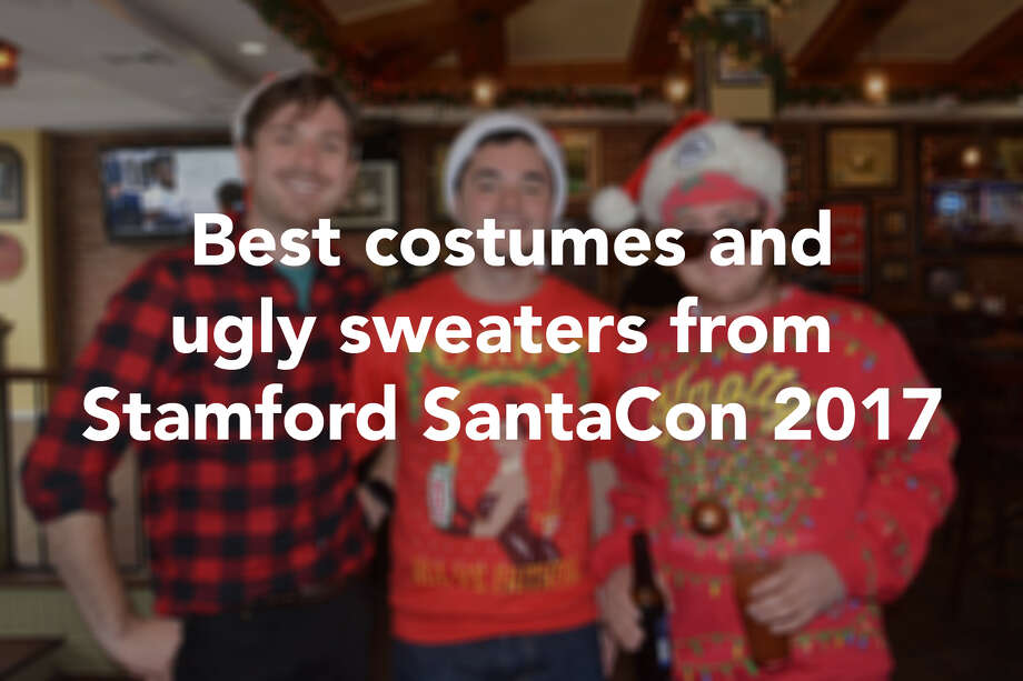 Best Costumes And Ugly Sweaters From Stamford Santacon 2017