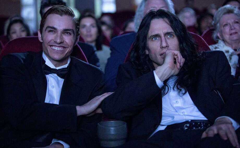"Dave Franco and James Franco in the film, ""The Disaster Artist."" (Justina Mintz/A24) Photo: Justina Mintz/A24, HO / TNS"