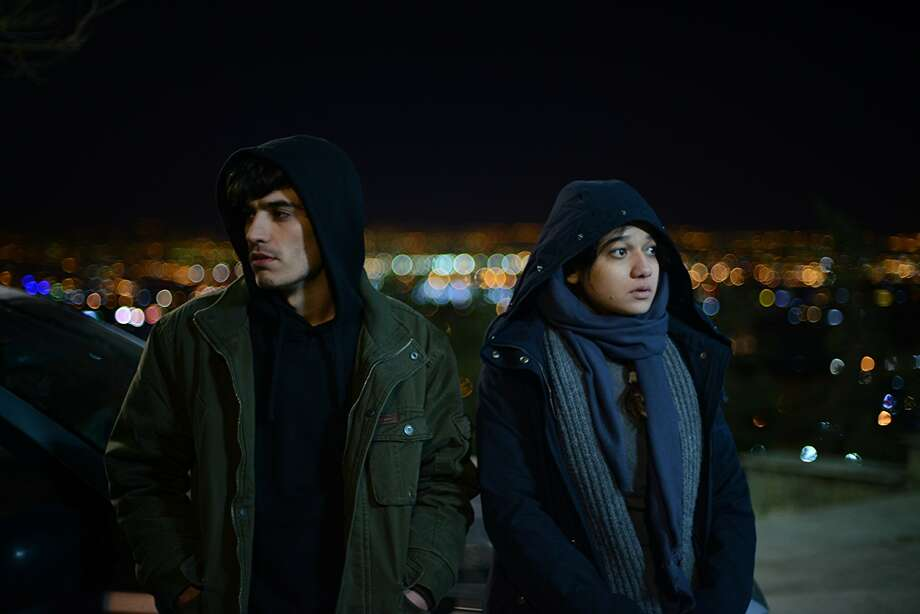 Amirreza Ranjbaran (left) and Sadaf Asgari star in 'Disappearance' (Three Gardens Films)